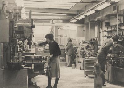 Vernie Metaalbewerking in de Jordaan, Amsterdam 1978