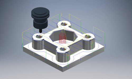 3D Model omzetten naar CNC programma.