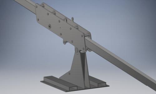 Onderdeel reinigingsarm - CNC - Verspaning - Metaalbewerking.